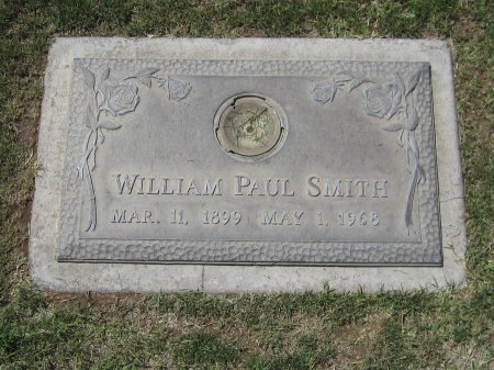 SMITH, WILLIAM PAUL - Maricopa County, Arizona | WILLIAM PAUL SMITH - Arizona Gravestone Photos