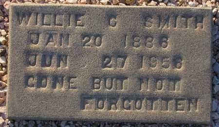 SMITH, WILLIE C. - Maricopa County, Arizona | WILLIE C. SMITH - Arizona Gravestone Photos