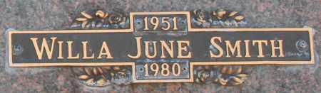 SMITH, WILLA JUNE - Maricopa County, Arizona | WILLA JUNE SMITH - Arizona Gravestone Photos