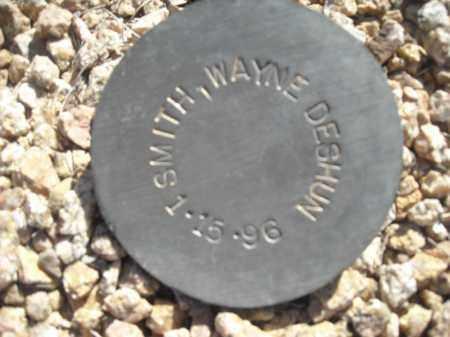 SMITH, WAYNE DESHUN - Maricopa County, Arizona | WAYNE DESHUN SMITH - Arizona Gravestone Photos