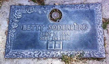 SODERBERG, BETTY - Maricopa County, Arizona | BETTY SODERBERG - Arizona Gravestone Photos