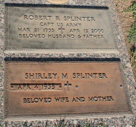 SPLINTER, SHIRLEY:M - Maricopa County, Arizona | SHIRLEY:M SPLINTER - Arizona Gravestone Photos