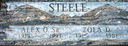 STEELE, ALEX O. SR - Maricopa County, Arizona | ALEX O. SR STEELE - Arizona Gravestone Photos