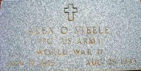 STEELE, ALEX O. - Maricopa County, Arizona   ALEX O. STEELE - Arizona Gravestone Photos