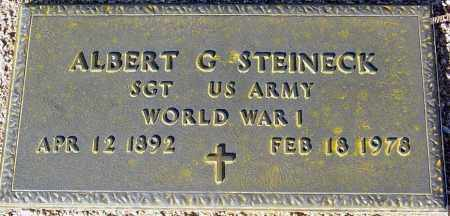 STEINECK, ALBERT G. - Maricopa County, Arizona   ALBERT G. STEINECK - Arizona Gravestone Photos