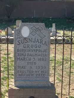 SUSNJARA, GROGO - Maricopa County, Arizona | GROGO SUSNJARA - Arizona Gravestone Photos