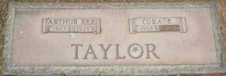 TAYLOR, CORA E - Maricopa County, Arizona | CORA E TAYLOR - Arizona Gravestone Photos
