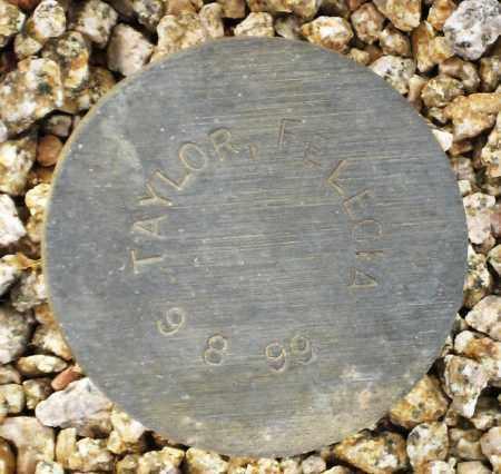 TAYLOR, FELECIA - Maricopa County, Arizona   FELECIA TAYLOR - Arizona Gravestone Photos