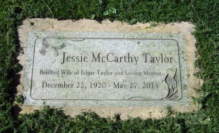 TAYLOR, JESSIE ALINE - Maricopa County, Arizona | JESSIE ALINE TAYLOR - Arizona Gravestone Photos