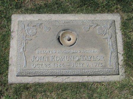 TAYLOR, JOHN EDMUND - Maricopa County, Arizona   JOHN EDMUND TAYLOR - Arizona Gravestone Photos