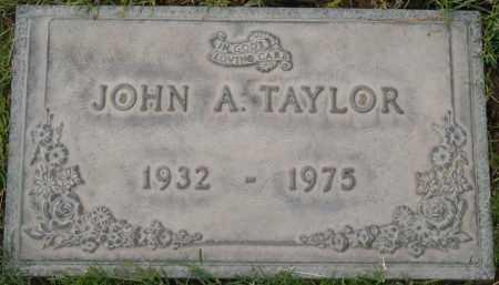 TAYLOR, JOHN A. - Maricopa County, Arizona | JOHN A. TAYLOR - Arizona Gravestone Photos
