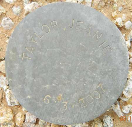 TAYLOR, JEANIE - Maricopa County, Arizona | JEANIE TAYLOR - Arizona Gravestone Photos