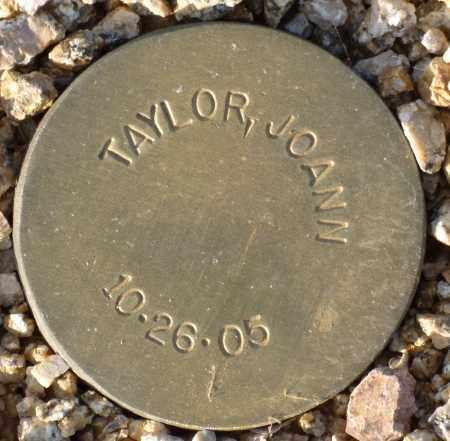 TAYLOR, JOANN - Maricopa County, Arizona | JOANN TAYLOR - Arizona Gravestone Photos