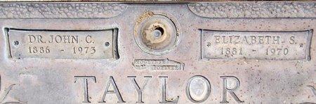 TAYLOR, JOHN C. - Maricopa County, Arizona | JOHN C. TAYLOR - Arizona Gravestone Photos