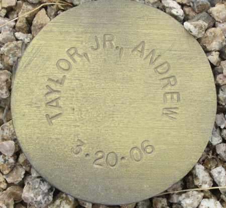 TAYLOR, ANDREW JR - Maricopa County, Arizona | ANDREW JR TAYLOR - Arizona Gravestone Photos