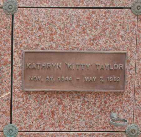 "TAYLOR, KATHRYN ""KITTY"" - Maricopa County, Arizona | KATHRYN ""KITTY"" TAYLOR - Arizona Gravestone Photos"