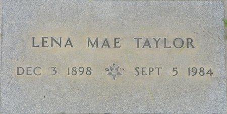 TAYLOR, LENA MAE - Maricopa County, Arizona | LENA MAE TAYLOR - Arizona Gravestone Photos