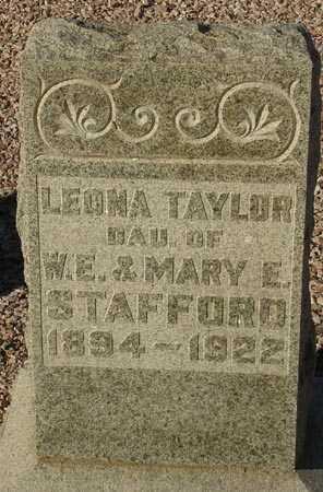 TAYLOR, LEONA - Maricopa County, Arizona | LEONA TAYLOR - Arizona Gravestone Photos