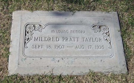 TAYLOR, MILDRED - Maricopa County, Arizona | MILDRED TAYLOR - Arizona Gravestone Photos