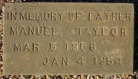 TAYLOR, MANUEL - Maricopa County, Arizona | MANUEL TAYLOR - Arizona Gravestone Photos