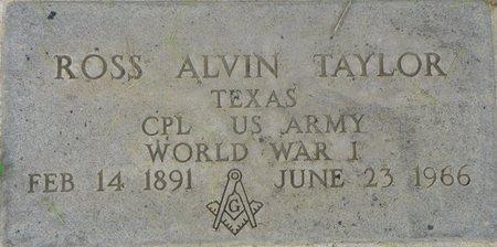 TAYLOR, ROSS ALVIN - Maricopa County, Arizona | ROSS ALVIN TAYLOR - Arizona Gravestone Photos