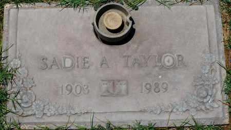 TAYLOR, SADIE A. - Maricopa County, Arizona | SADIE A. TAYLOR - Arizona Gravestone Photos