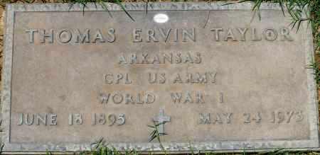 TAYLOR, THOMAS ERVIN - Maricopa County, Arizona | THOMAS ERVIN TAYLOR - Arizona Gravestone Photos
