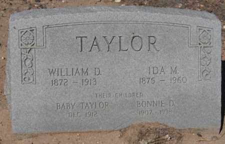 TAYLOR, BONNIE D. - Maricopa County, Arizona | BONNIE D. TAYLOR - Arizona Gravestone Photos