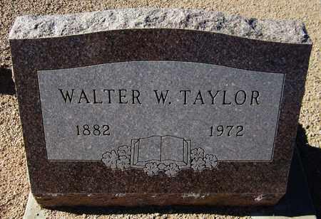 TAYLOR, WALTER W. - Maricopa County, Arizona | WALTER W. TAYLOR - Arizona Gravestone Photos