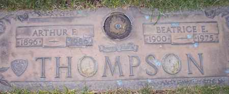 THOMPSON, ARTHUR E. - Maricopa County, Arizona | ARTHUR E. THOMPSON - Arizona Gravestone Photos