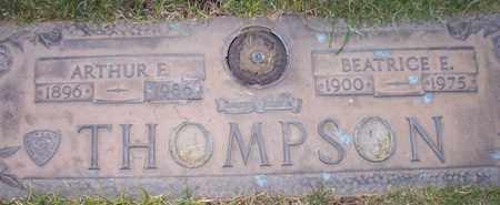 THOMPSON, BEATRICE E. - Maricopa County, Arizona | BEATRICE E. THOMPSON - Arizona Gravestone Photos
