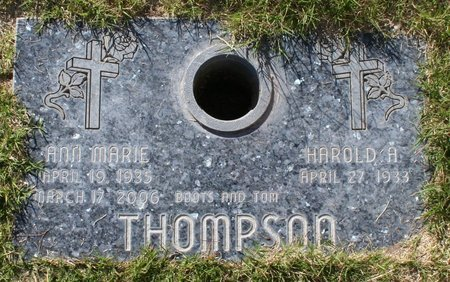 THOMPSON, ANN MARIE - Maricopa County, Arizona | ANN MARIE THOMPSON - Arizona Gravestone Photos