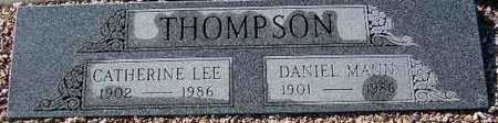 THOMPSON, DANIEL MANN - Maricopa County, Arizona | DANIEL MANN THOMPSON - Arizona Gravestone Photos