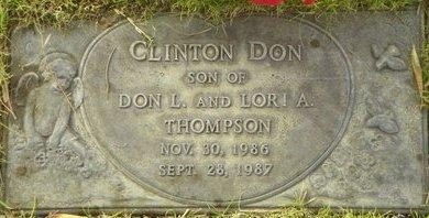 THOMPSON, CLINTON DON - Maricopa County, Arizona | CLINTON DON THOMPSON - Arizona Gravestone Photos