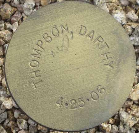 THOMPSON, DARTHY - Maricopa County, Arizona   DARTHY THOMPSON - Arizona Gravestone Photos