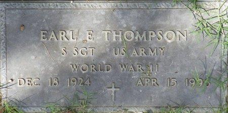 THOMPSON, EARL E - Maricopa County, Arizona | EARL E THOMPSON - Arizona Gravestone Photos