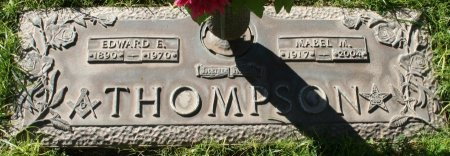 THOMPSON, EDWARD E - Maricopa County, Arizona | EDWARD E THOMPSON - Arizona Gravestone Photos