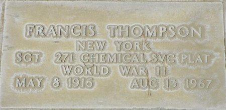 THOMPSON, FRANCIS - Maricopa County, Arizona | FRANCIS THOMPSON - Arizona Gravestone Photos