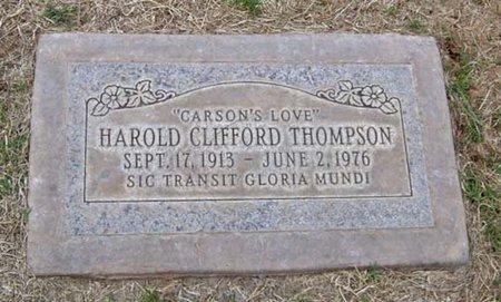 THOMPSON, HAROLD CLIFFORD - Maricopa County, Arizona | HAROLD CLIFFORD THOMPSON - Arizona Gravestone Photos