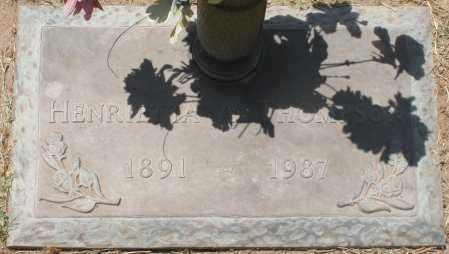 THOMPSON, HENRIETTA A. - Maricopa County, Arizona   HENRIETTA A. THOMPSON - Arizona Gravestone Photos