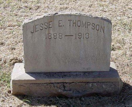 THOMPSON, JESSE E. - Maricopa County, Arizona | JESSE E. THOMPSON - Arizona Gravestone Photos