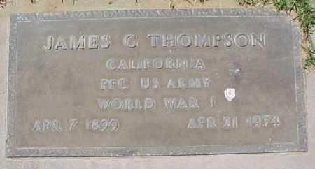 THOMPSON, JAMES GILPIN (GIP) - Maricopa County, Arizona | JAMES GILPIN (GIP) THOMPSON - Arizona Gravestone Photos