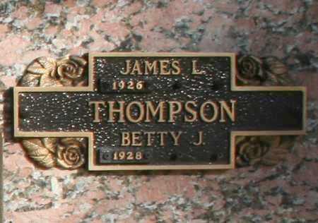 THOMPSON, JAMES L - Maricopa County, Arizona | JAMES L THOMPSON - Arizona Gravestone Photos