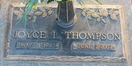 THOMPSON, JOYCE L. - Maricopa County, Arizona | JOYCE L. THOMPSON - Arizona Gravestone Photos