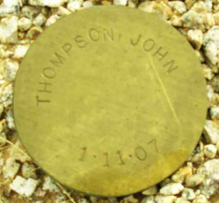 THOMPSON, JOHN - Maricopa County, Arizona   JOHN THOMPSON - Arizona Gravestone Photos