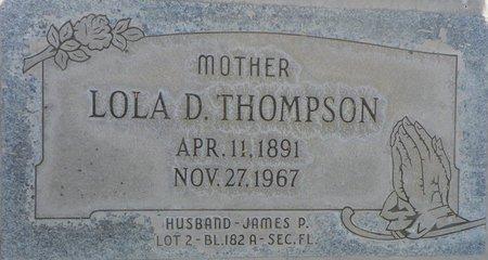 THOMPSON, LOLA D - Maricopa County, Arizona   LOLA D THOMPSON - Arizona Gravestone Photos