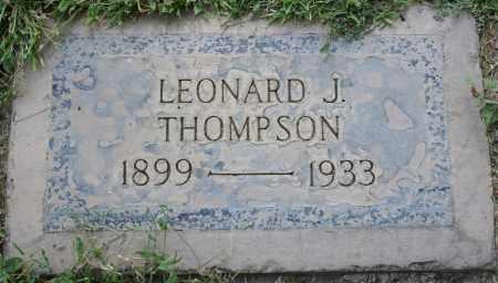THOMPSON, LEONARD JEFFERSON - Maricopa County, Arizona | LEONARD JEFFERSON THOMPSON - Arizona Gravestone Photos