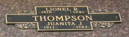 THOMPSON, LIONEL R - Maricopa County, Arizona | LIONEL R THOMPSON - Arizona Gravestone Photos