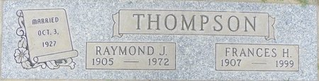 THOMPSON, FRANCES H - Maricopa County, Arizona | FRANCES H THOMPSON - Arizona Gravestone Photos