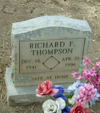 THOMPSON, RICHARD F. - Maricopa County, Arizona | RICHARD F. THOMPSON - Arizona Gravestone Photos